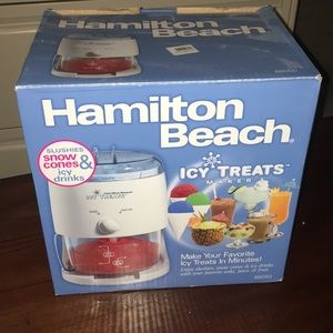 Hamilton beach tasty treats maker